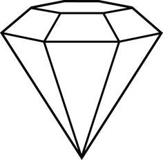 Diamond Line Art - Shape Inspiration