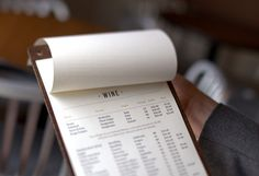 Julian - Menu (wine list detail) by Nathaniel Cooper, via Flickr