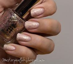 Masterpiece Pink: OPI You Callin' Me a Lyre, Essie Muchi Muchi, A-England She Walks in Beauty