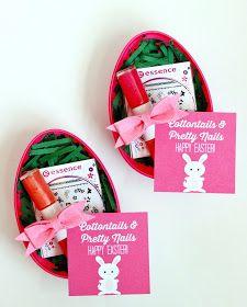 Teen Girl Easter Basket Idea: Easter Egg Nail Kit