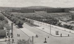 Kızılaydan Bakanlıklara, Çankaya ya doğru Eski Ankara Fotoğrafları 1