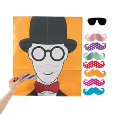 Pin the Flashy Stache Game - OrientalTrading.com $4.00  Oriental Trading