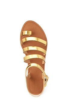 Favorite Strappy Sandals   FOREVER21 - 2000124756 - http://AmericasMall.com/categories/juniors-teens.html