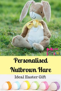 Lux elephant doll new baby boy elephant doll welcome to the easter nutbrown hare new baby giftspersonalised negle Gallery