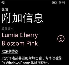 The Nokia WP8.1 firmware is called Lumia Cherry Pink Blossom, screenshots surface - http://rigsandgeeks.com/the-nokia-wp8-1-firmware-is-called-lumia-cherry-pink-blossom-screenshots-surface/