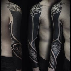 blackwork tattoo - Google Search