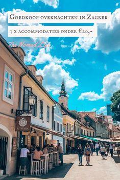 Voor deze 7 accommodaties in Zagreb betaal je minder dan €20 per nacht per persoon! Hotels, Mansions, House Styles, Travel, Life, Night, Viajes, Manor Houses, Villas