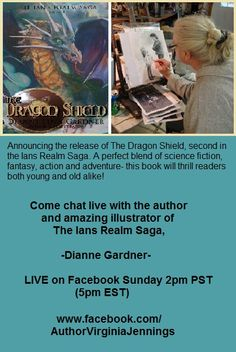 Authors, Writers, Dragon Shield, Saga, Science Fiction, This Book, Sunday, Meet, Events