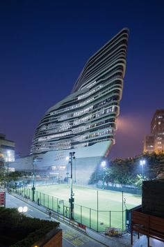 Université Polytechnique de Hong Kong - Zaha Hadid