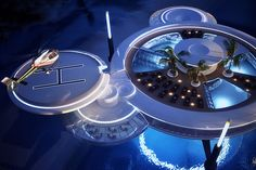 Water Discus Underwater Hotel in Dubai 5
