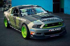 Falken / Monster Energy - #24 Ford Mustang Formula D