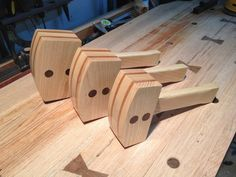 Three Tenors... er I mean Hammers - by Bsmith @ LumberJocks.com ~ woodworking community