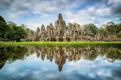 CAMBODIA, BAYON TEMPLE,