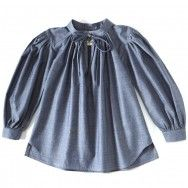 Dagmar Daley gypsy smock (chambray)