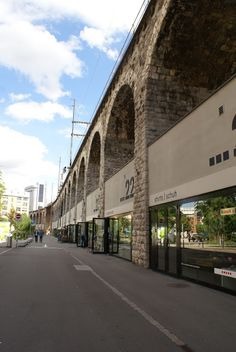 In Viaduct shopping - Zurich, Switzerland