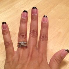 Snazzy wedding nails