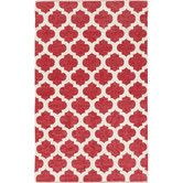 Found it at Wayfair - Picnic Red/Ivory Indoor/Outdoor Rug