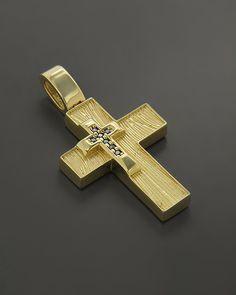 Σταυρός βάπτισης Χρυσός Κ14 με Ζιργκόν