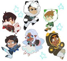 Voltron Charms • toifshop • Tictail
