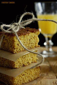Orange cake with polenta by Sophie Dahl.