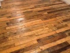 Pallet floors