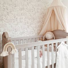 How sweet is this woodland themed nursery? 🥰 Thank you for sharing with us, we're so pleased to see little Barney is enjoying his cot bed already. Nursery Themes, Nursery Decor, Themed Nursery, Nursery Ideas, French Nursery, Small Nurseries, Reborn Nursery, Rainbow Nursery, Grey Furniture