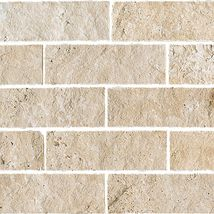 Mediterranean Ivory Split Face - Travertine Collection by daltile