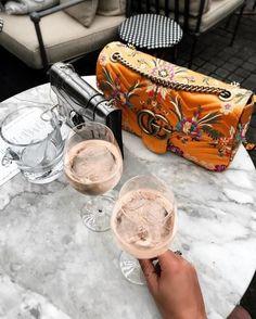 See Want Shop Blog | Orange Gucci Handbag |