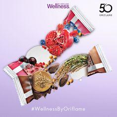 ¡Un delicioso snack #WellnessByOriflame para consentir a tu paladar!