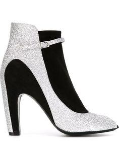 maison margiela peep toe boots. these must be mine.