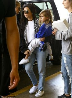 Girls' Day Out: Penelope was also spotted with her