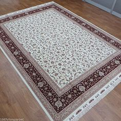 $$  82ftx1148ft Top Fine Estate Turkish Style Hand Knotted Red Persian Oriental Wool Carpet Rug