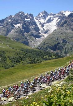 Tour de France. Won't be able to do this myself but it does give me my own goals