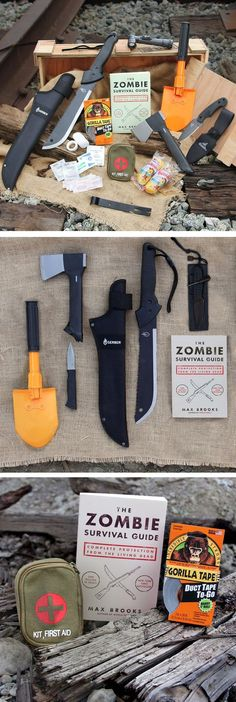 Is your Dad prepared? This Zombie Survival Kit is the perfect gift for #fathersday
