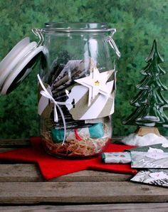 """Adventskalender - gefüllter Tee - Adventskalender im """"Vorratsglas"""" - ein Designerstück von FrlBetty bei DaWanda"""