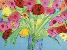 Walasse Ting, Flowers