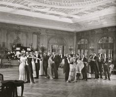 First Class Ballroom, SS Imperator. The ship's architect was the Ecole de Beaux-Arts trained Charles Mewes. His interiors are unmatched in traditional ship-building design.