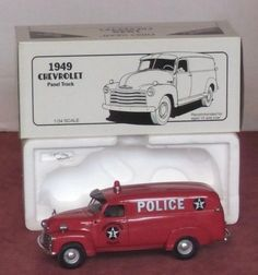 First Gear 1949 Chevrolet Philadelphia Police panel truck #FirstGear #Chevrolet