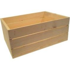 Shop for Large 22-inch Wooden Crate. Free Shipping on orders over $45 at Overstock.com - Your Online Home Improvement Outlet Store! Get 5% in rewards with Club O!