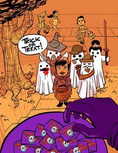 THIRD EYE SNEAK PEEK: FIVE GHOSTS #6 Third Eye x Halloween ComicFest Variant -- Available 10/26/13!