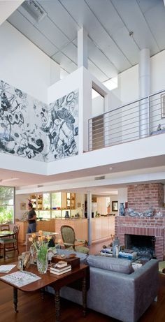 I love this so hard. // Dwell on Design Exclusive House Tour: Kahn Residence