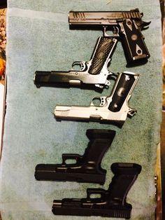 Glocks, STI's and Kimber