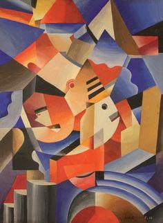 juliel71:  Mechanical Breakdown, 1922 by Nicolay Diulgheroff