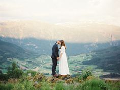 Organic Wedding on the Fjords of Norway via oncewed.com