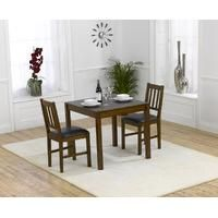 Buy the Oxford Dark Solid Oak Dining Table with Oxford Chairs at Oak Furniture Superstore Oak Dining Sets, Solid Oak Dining Table, Dining Furniture Sets, Kitchen Dining Sets, Square Dining Tables, Wooden Dining Tables, Dining Chairs, Dining Area, Dining Room