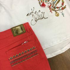 Conjunto niña Bimbalina en Valentina and Sir Jeans, Fashion, Kid Outfits, Spring Summer 2016, Moda, Fashion Styles, Fashion Illustrations, Denim, Denim Pants