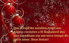 Demonstre seu espírito natalino espalhe boas vibrações neste natal e ano novo, envie uma mensagem do seu celular.