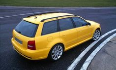 Audi RS4 Avant with Cosworth reworked engine