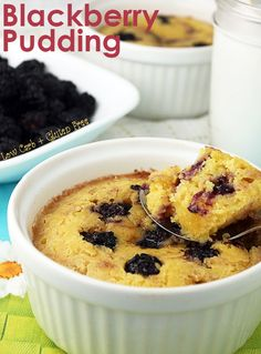 Low Carb Blackberry Pudding | Ruled Me