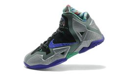 innovative design 516ae 9ebf9 Lebron 11 Terracotta Warrior Chroma Metallic Silver Laser Purple Chaussures  De Course Nike Pas Chères,